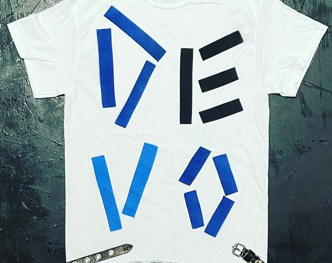 DEVO Spray Painted Shirt