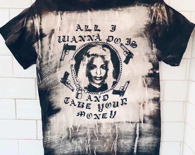 M.I.A. Bleached Shirt