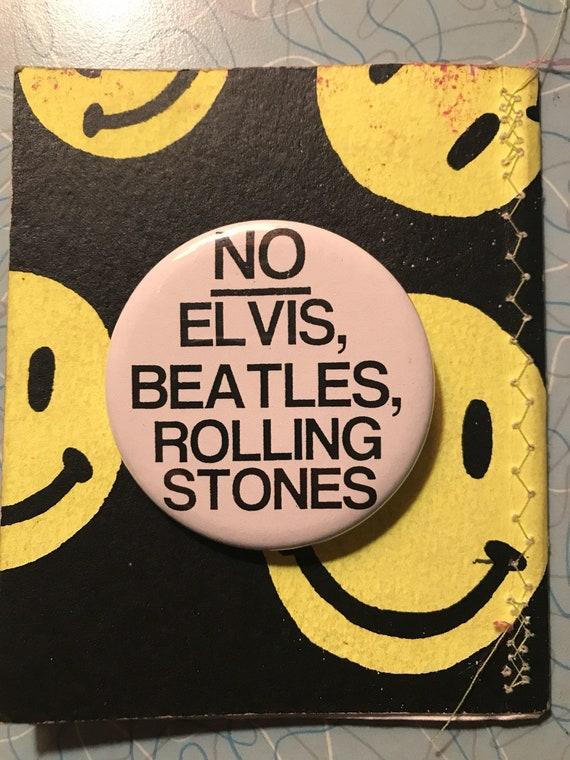 The Clash 1977 Pin