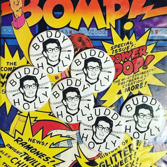 Buddy Holly Pin