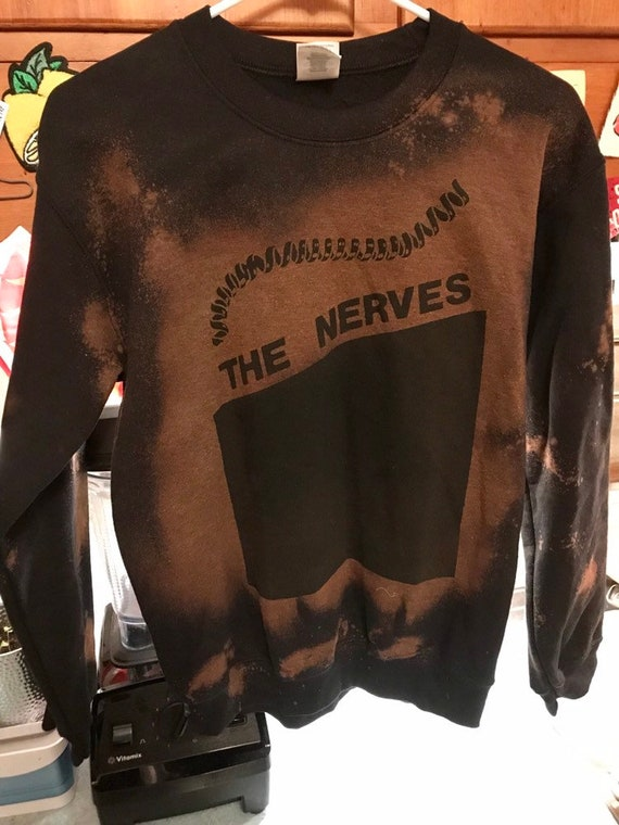 The Nerves Bleached Sweater