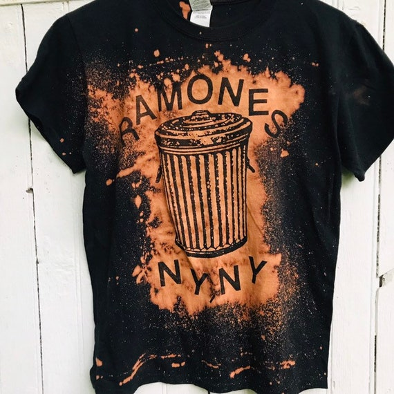 Ramones Shirt Bleached