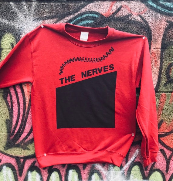 The Nerves Sweater Cardinal Red