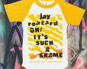 Jay Reatard Spray Painted Shirt