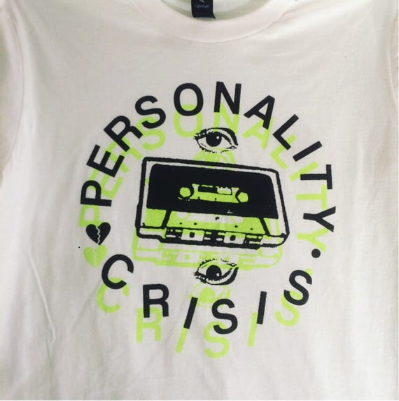 Personality Crisis Shirt (Electric Green)