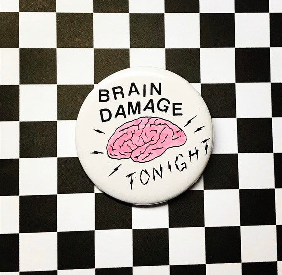 Brain Damage Pin