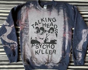 Talking Heads Bleached Sweatshirt