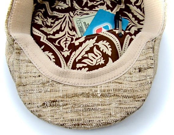 ADD-ON - Inside Pocket in Hat Lining to Stow Personal Belongings