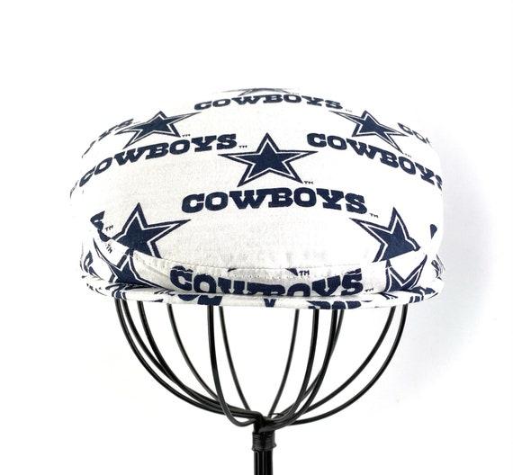 Dallas Cowboys Logo Print Cotton Jeff Cap, Flat Ivy Cap, Driving Cap - Custom made