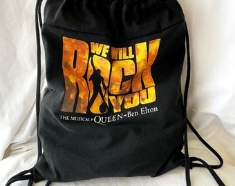 Backpack Upcycled from tShirt Lightweight Travel Often One of a Kind