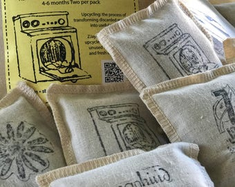 Case of two packs Laundry Pillows lavender filled for the dryer and more