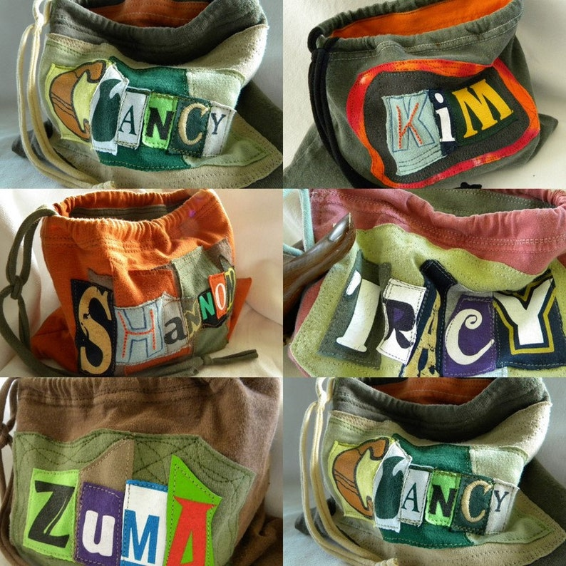 Name your Stuff ONE What's Your Word LINED Wristlet  Pouch image 0