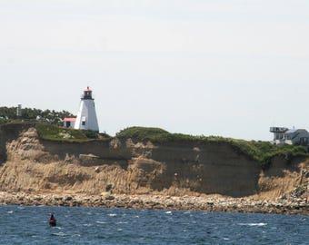 Plymouth Gurnet Lighthouse stock photo image free use