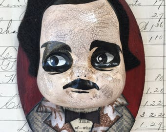 Little Edgar Allan Poe ornament