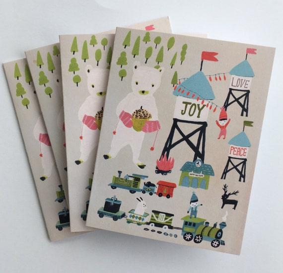Polar Joy Holiday Cards