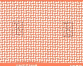 Mini Houndstooth Half Sheet Silkscreen