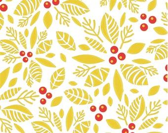 2 Color Poinsettia set Silkscreens