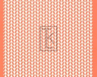 Knit Pattern Silkscreen
