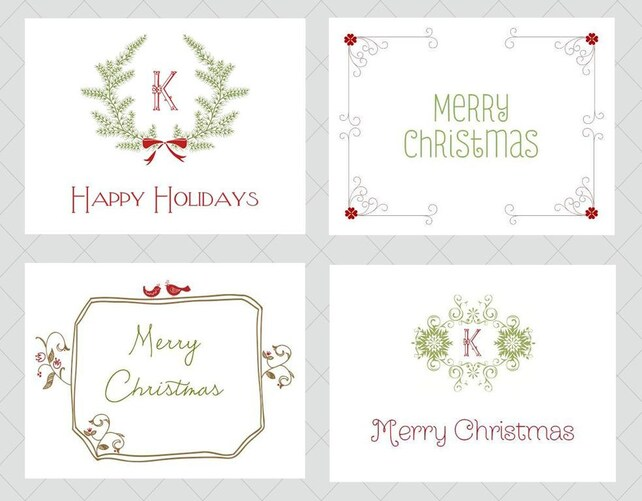 Christmas Card Set Fast Shipping Holiday Gift Teacher Gift