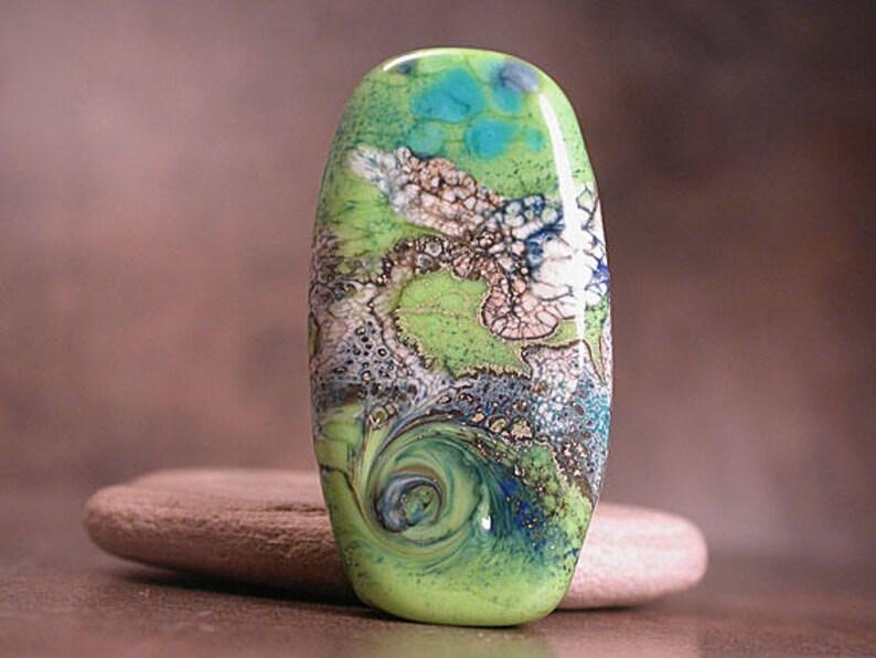 Artisan Glass Art Glass Focals Lampwork Glass Focal Bead SRA Divine Spark Designs