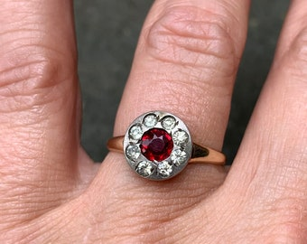 Two Tone 10K Ring