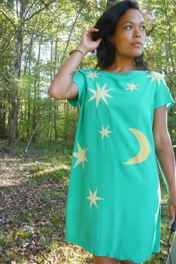 Cosmos Revival Shift Dress