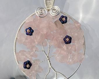 Rose Quartz Blossoms
