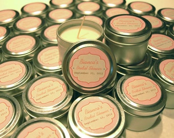Favor Gift Travel Candles