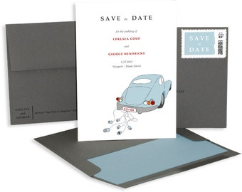 Old-Fashioned Save the Date