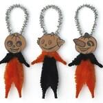Primitive Halloween Decorations - Handmade Halloween Ornaments