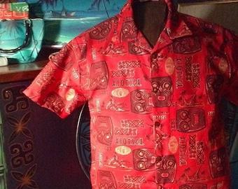 X.I.O.T.I.C.A. wear mens aloha shirt
