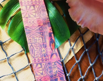 The Mai Tie, Castaway Cravat for the Dapper Primitive
