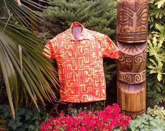 Sophista-tiki Togs aloha shirt. SM - XL