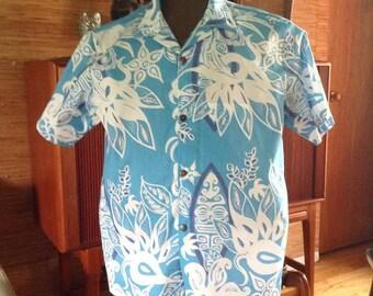Mens aloha shirt - Sophista-tiki Airways