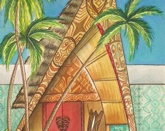 The Grand Entrance, print