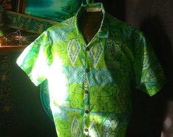 Tapadelica mens aloha shirt Sophista-tiki Togs