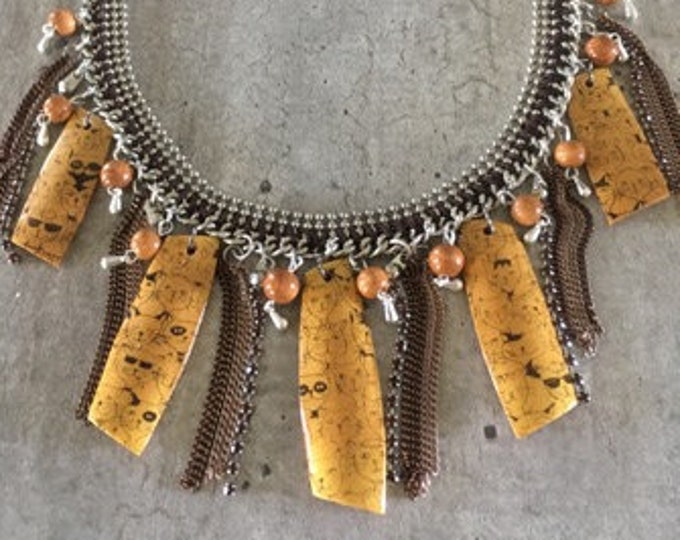 Choker necklace - cats - new collection