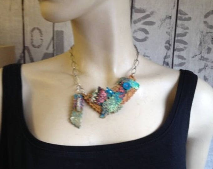 "Necklace ""couture"" for Quilters - new collection"