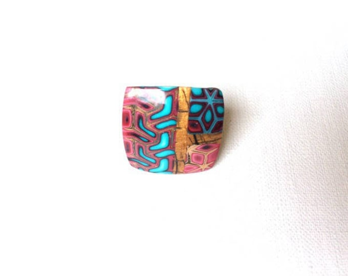 """Native"" ring in polymer clay - new collection"