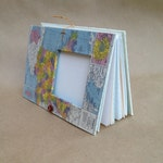 Personalized France Travel Journal with Pockets and Envelopes