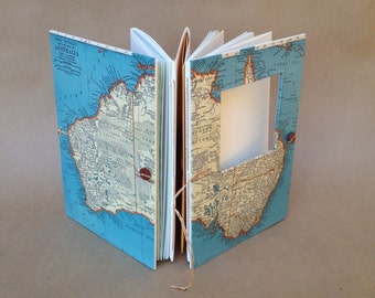 Australia Traveler's Notebook with Pockets and Envelopes