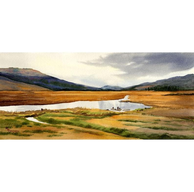 By Yon Bonnie Braes in Scotland image 1