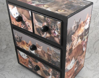 Cats Stash Jewelry Box