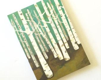 Birch Forest Journal by Lisa Congdon