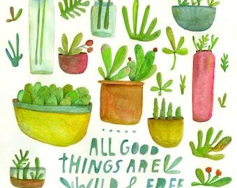 Print: Lisa Congdon's  All Good Things