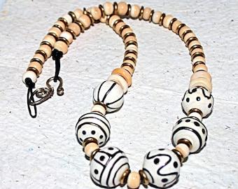 Lampwork  Art Jewelry Necklace by Jeanniesbeads #5059