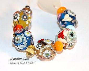 Lampwork  Art Jewelry by Jeanniesbeads #2811