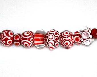 Lampwork  Art Jewelry by Jeanniesbeads #4524