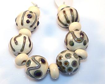 Lampwork  Art Beads by Jeanniesbeads #4200
