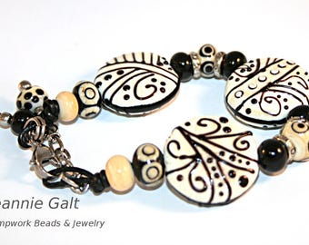 Lampwork  Art Jewelry by Jeanniesbeads #2469